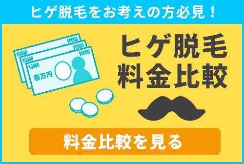 茨城・水戸でのヒゲ脱毛の料金を徹底的に調査、あなたに合わせたサロンを価格から比較